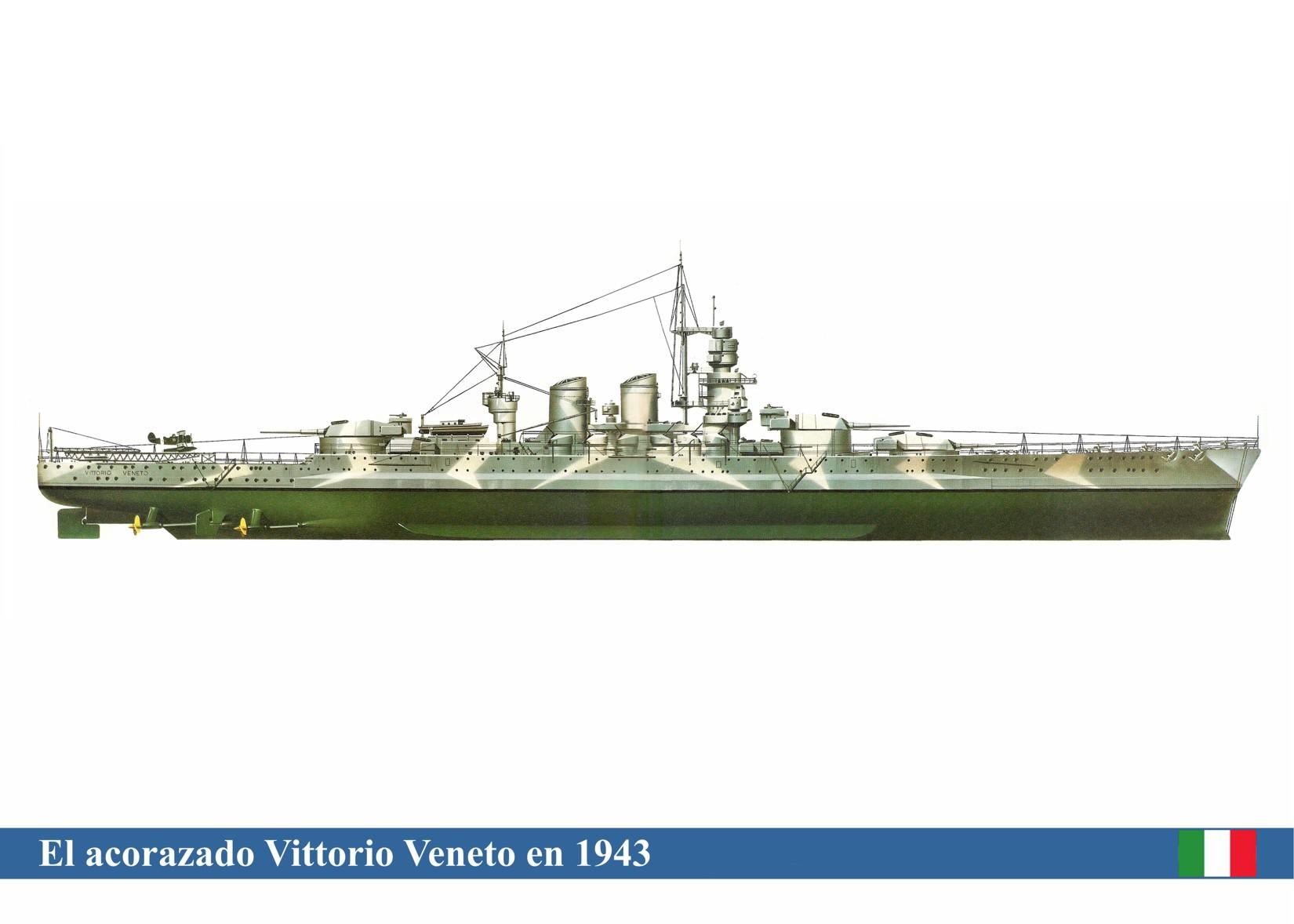 Vittorio Veneto Italy  City new picture : Italian battleship Vittorio Veneto